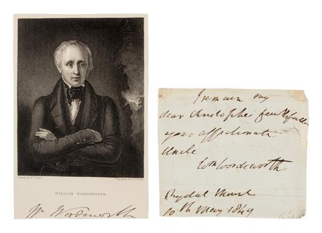 WORDSWORTH, William (1770-1850).