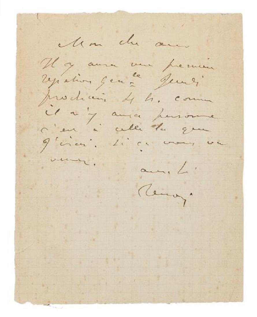 RENOIR, Pierre Auguste (1841-1919).