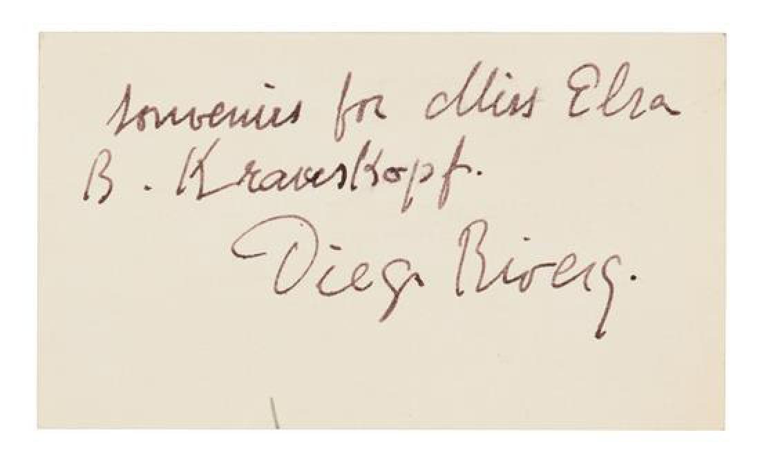 RIVERA, Diego (1886-1957).