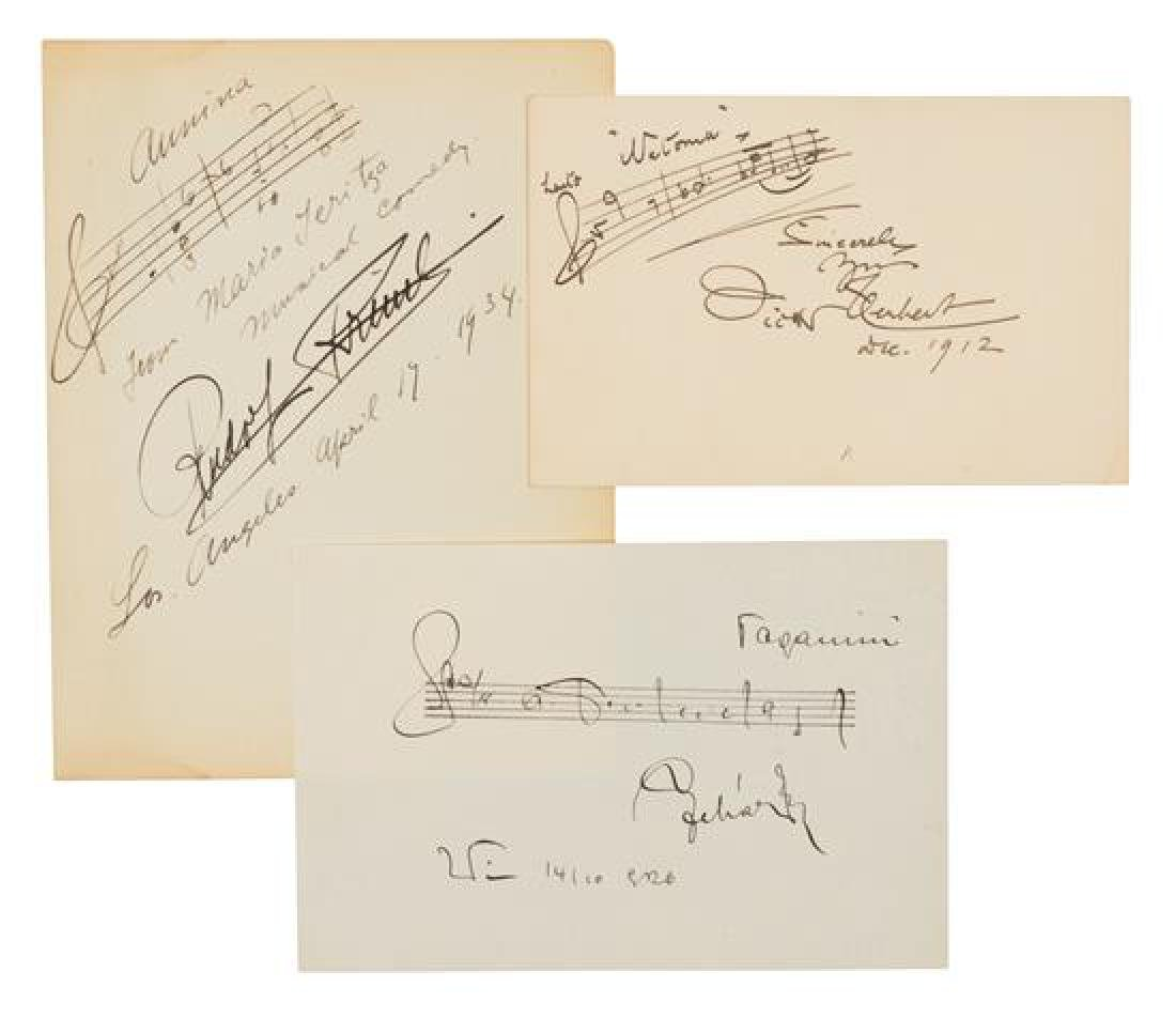 [MUSICIANS AND COMPOSERS].