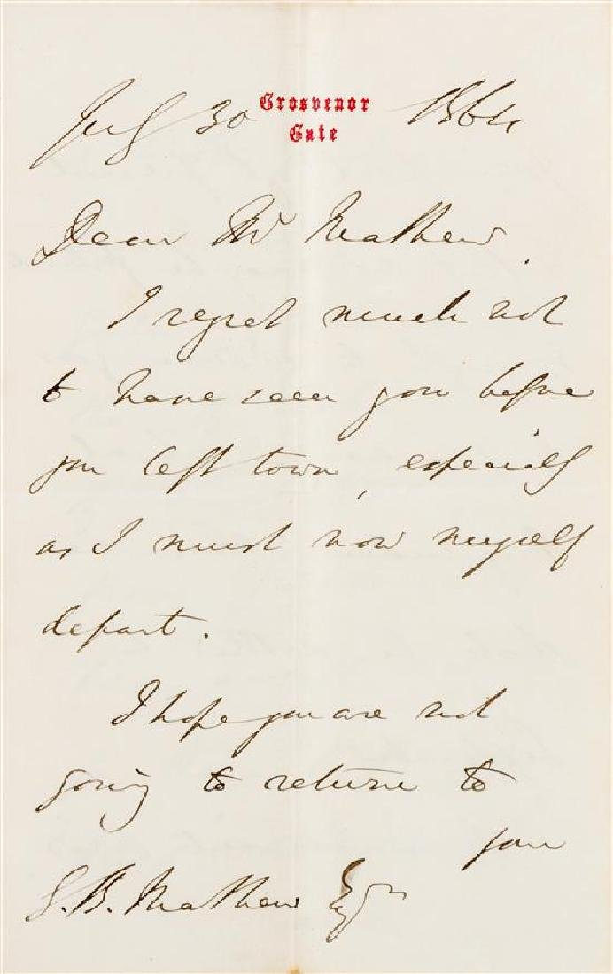 DISRAELI, Benjamin (1804-1881).
