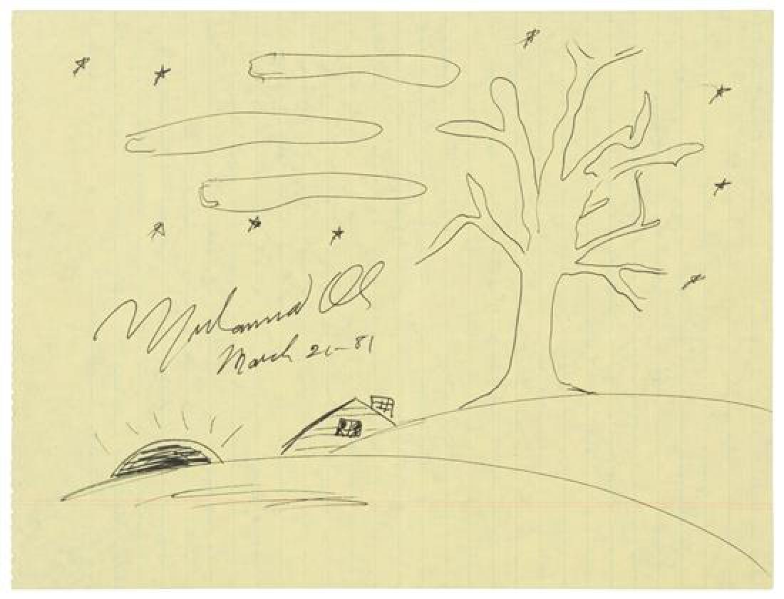 ALI, Muhammad (1942-2016).