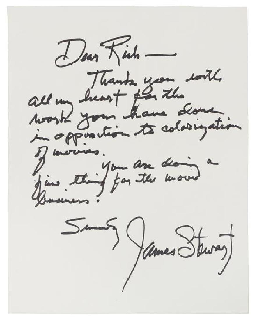 STEWART, James (1908-1997).