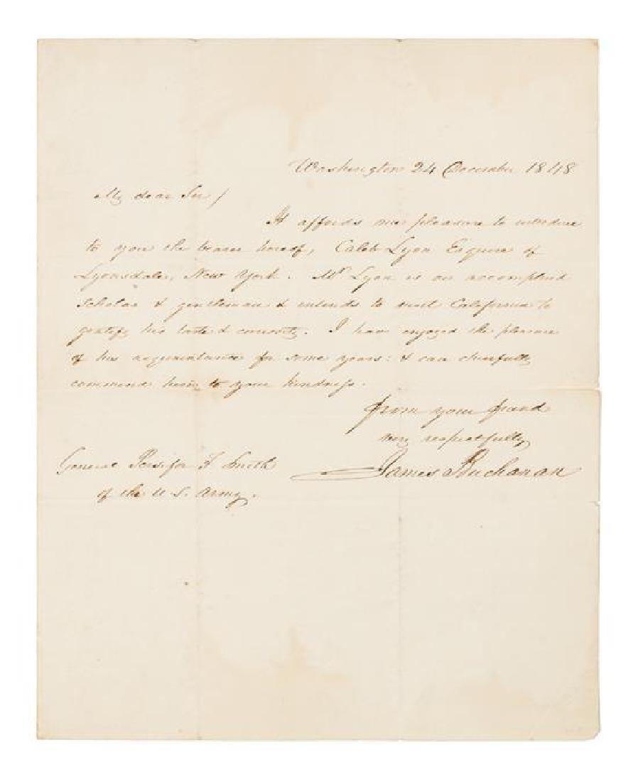 BUCHANAN, James (1791-1868).