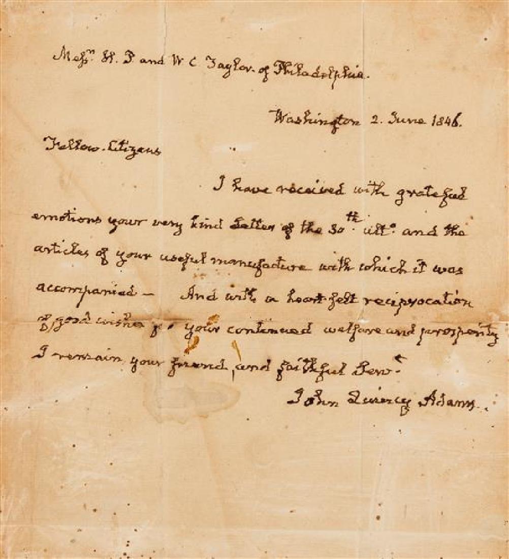 ADAMS, John Quincy (1767-1848).
