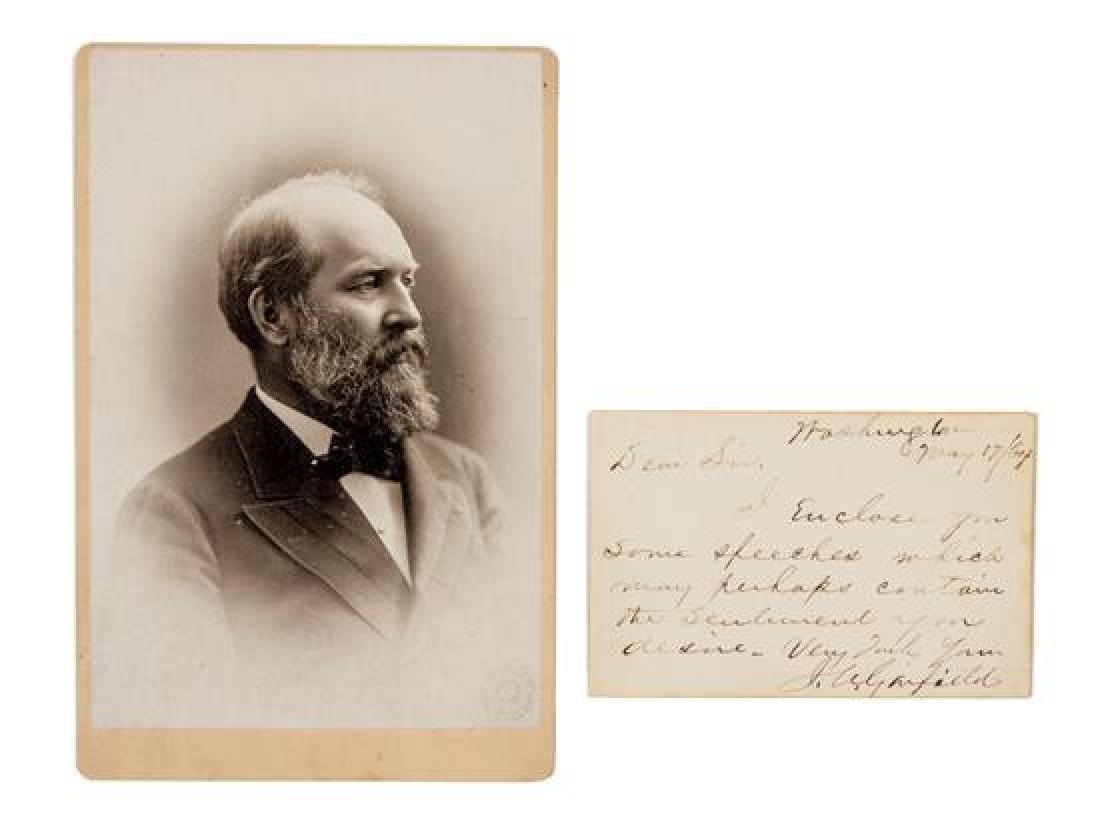 GARFIELD, James A. (1831-1881).
