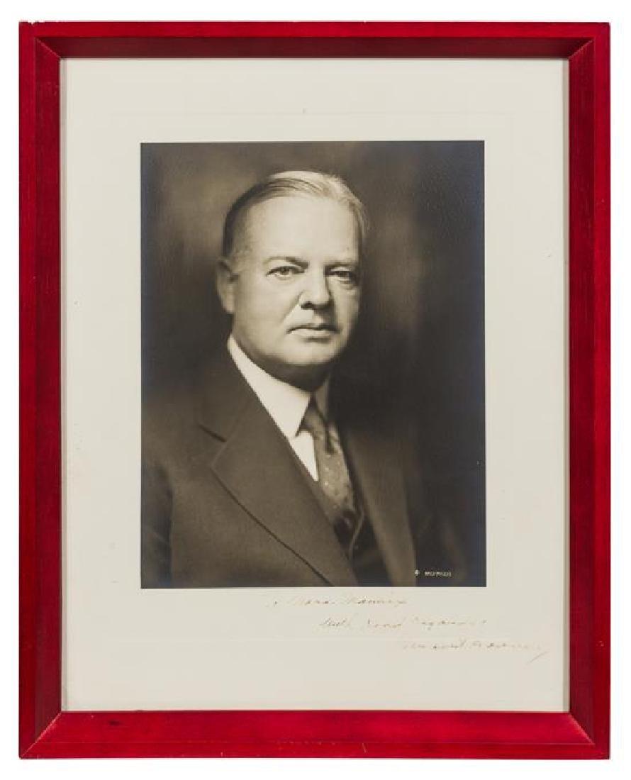 HOOVER, Herbert (1874-1964).