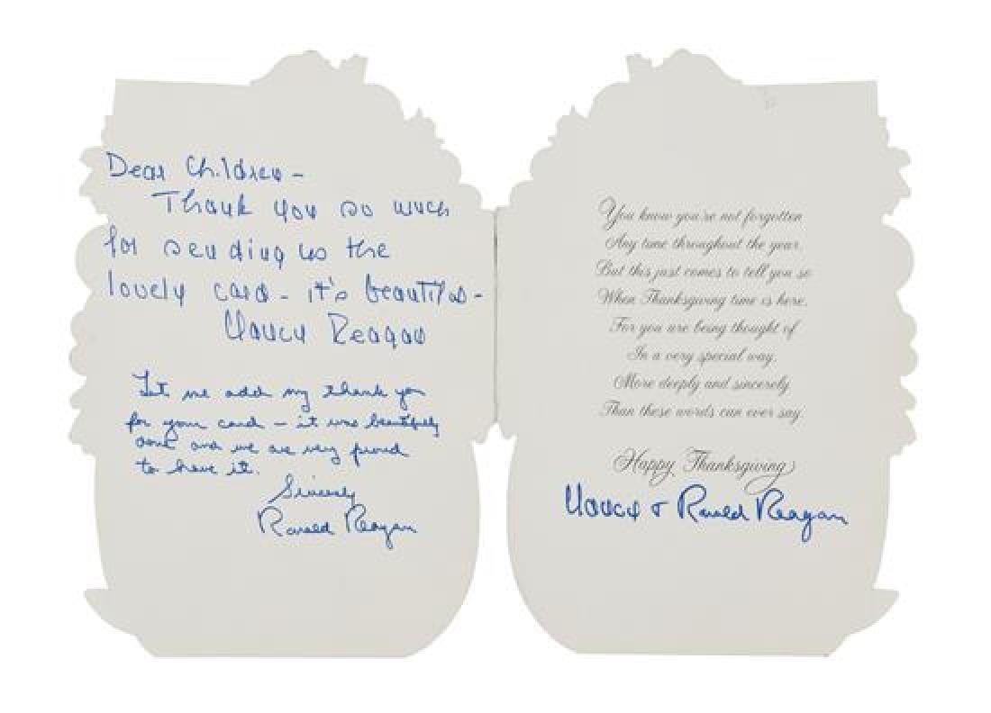 REAGAN, Ronald (1911-2004) and Nancy REAGAN