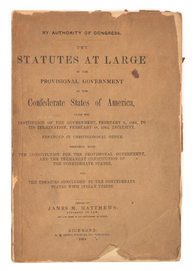 [AMERICAN HISTORY] A group of works, comprising: