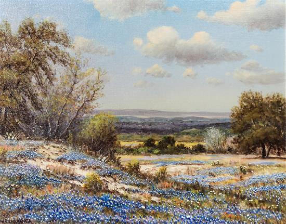 William Thrasher, (American, b. 1908-1997), Blue Bonnet