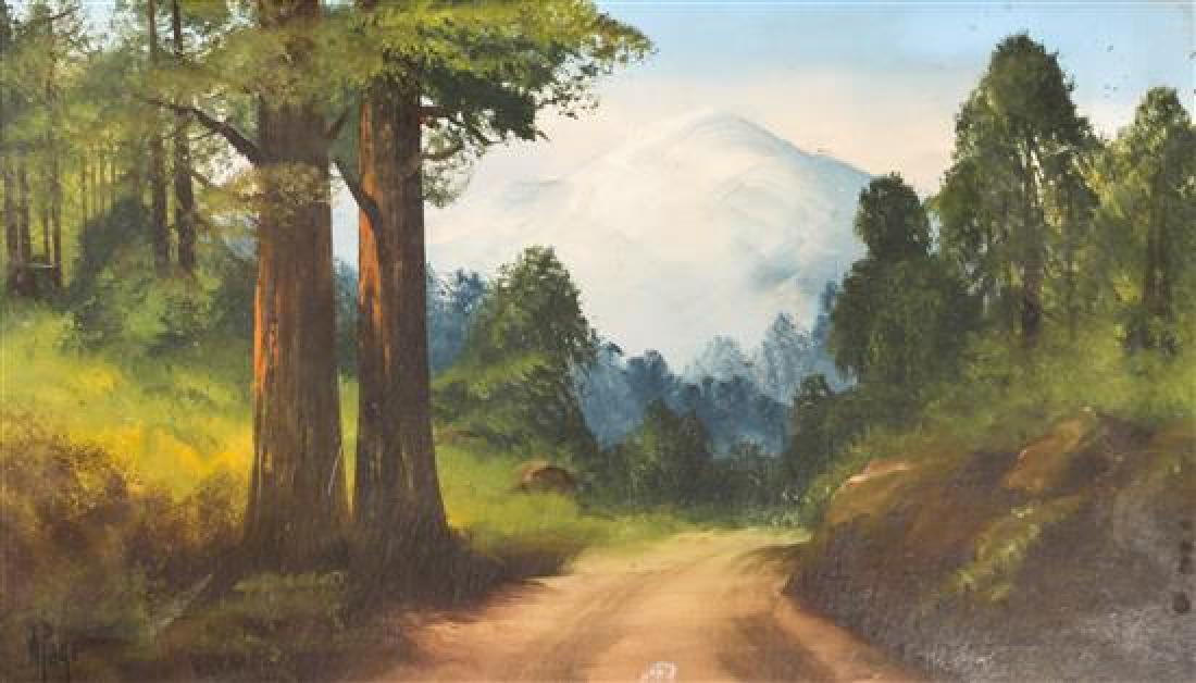 Willard Page, (American, 1885-1958), Untitled