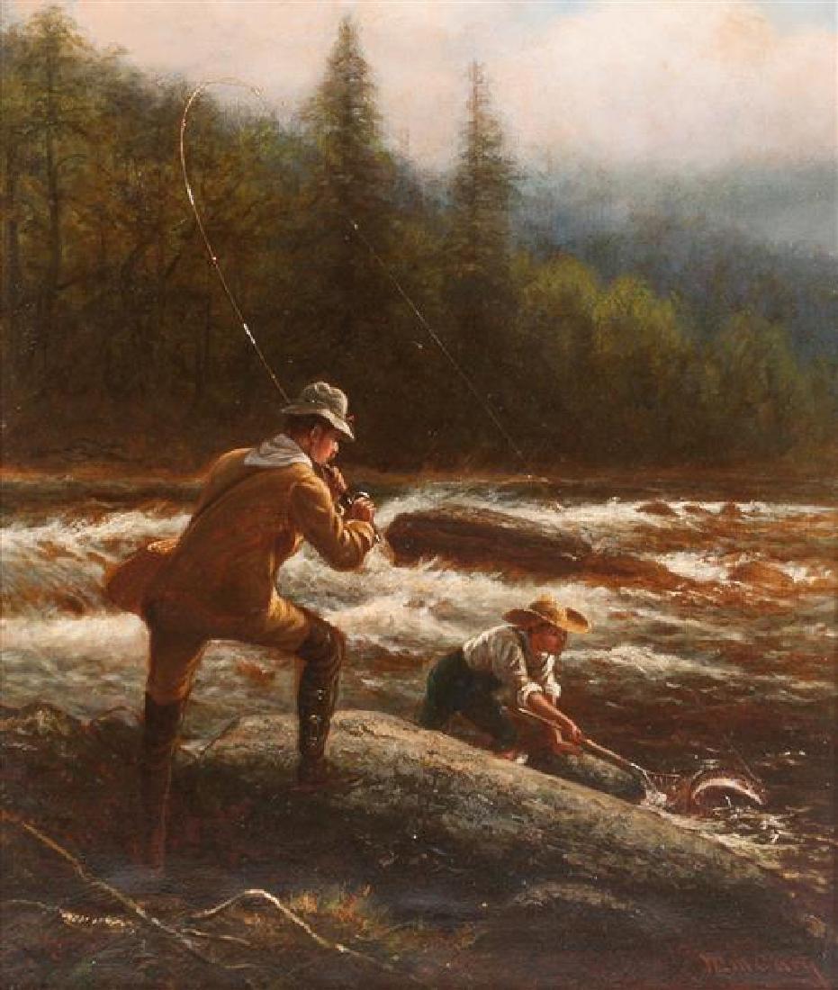 William de la Montagne Cary, (American, 1840-1922), Fly