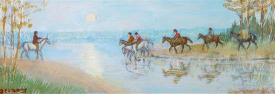 Edwin Willard Deming, (American, 1860-1942), Untitled