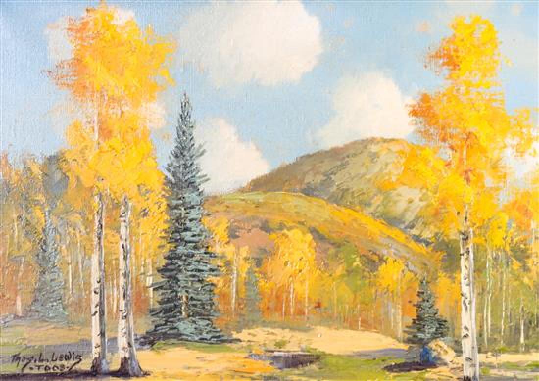 Thomas Lee Lewis, (American, 1907-1978), Landscape