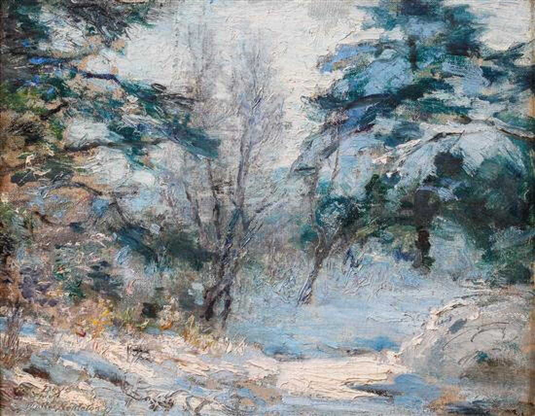 Walter Nettleton, (American, 1861-1936), Winter