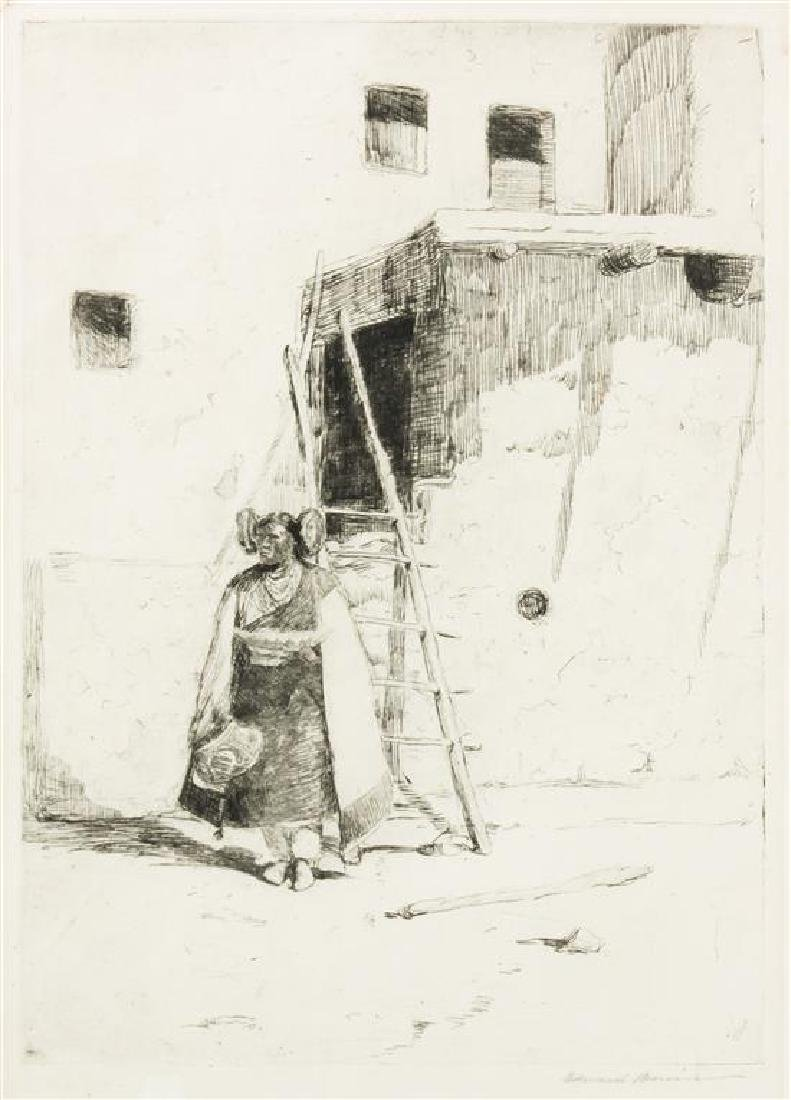 Edward Borein, (American, 1872-1945), Hopi Girl