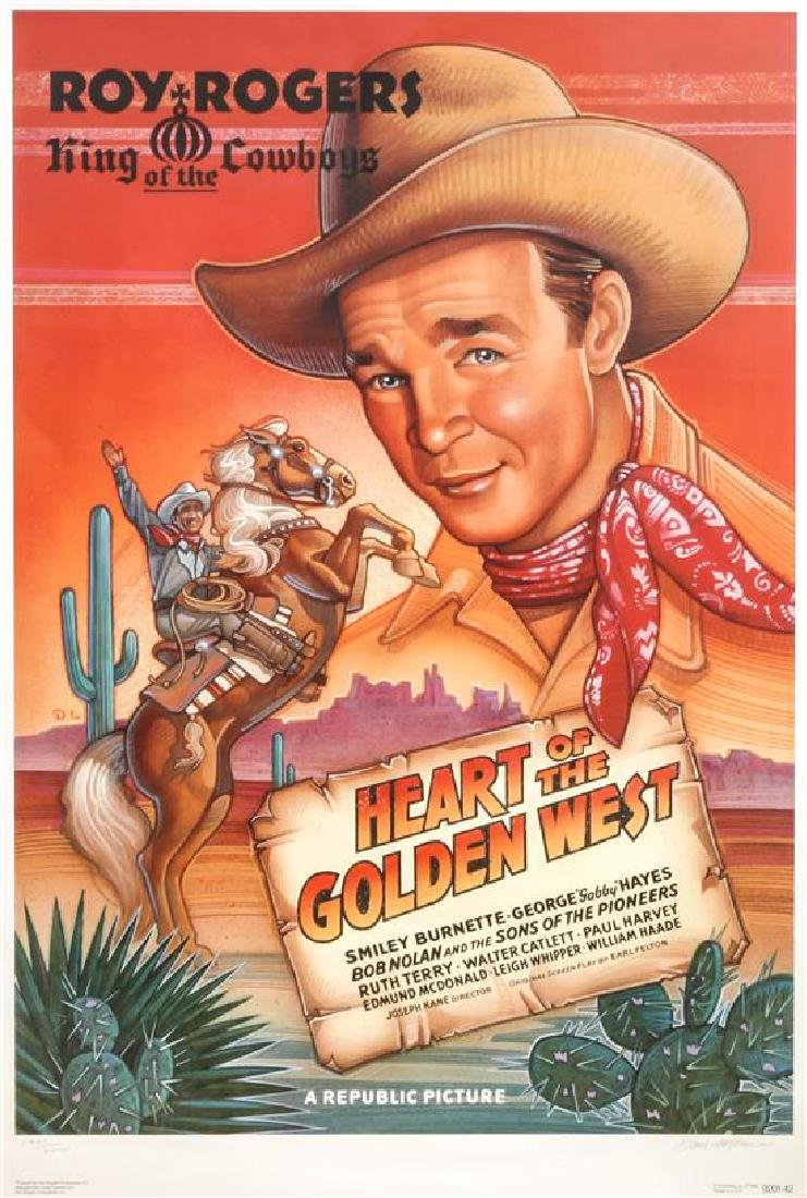 Western Movie Poster Height 42 x width 26 inches