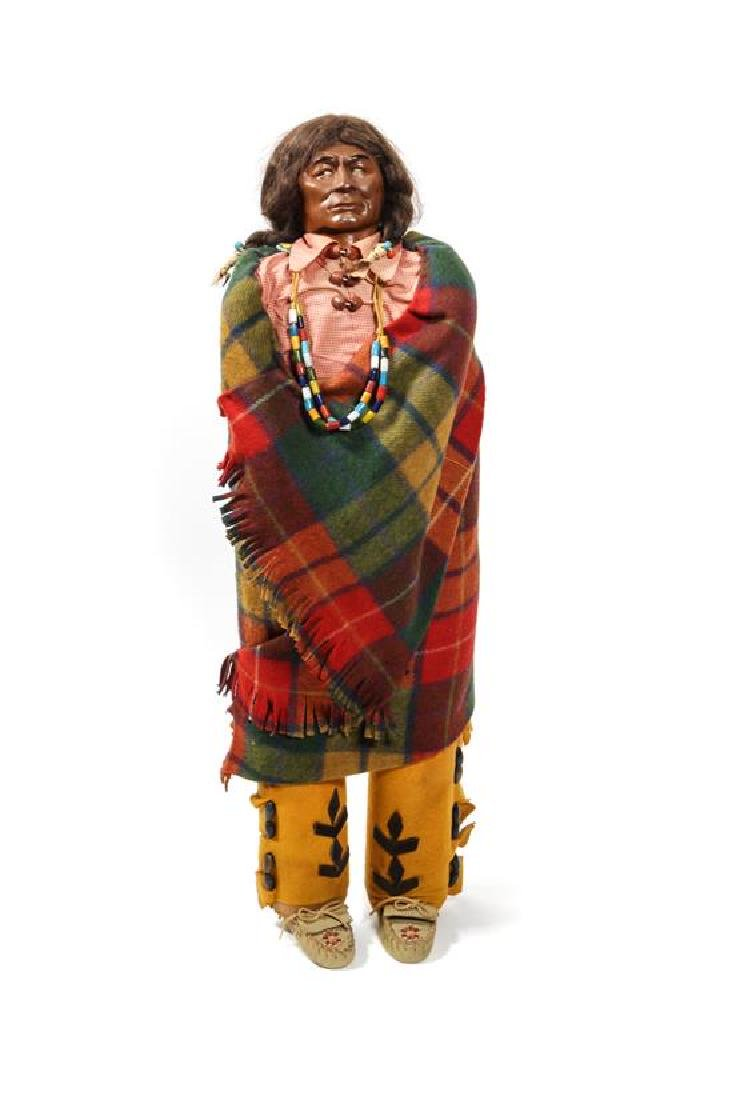 Large Skookum Indian Doll Height 36 inches
