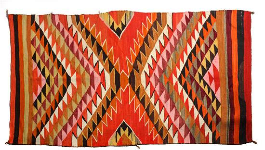 Navajo Transitional Weaving 50 x 93 inches