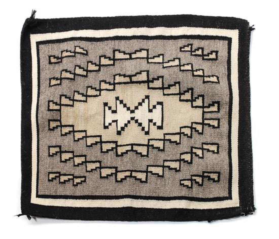 Two Navajo Weavings Larger: 35 1/4 x 37 inches