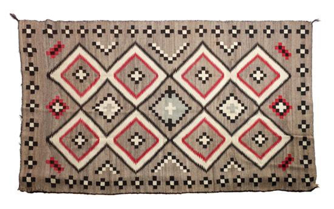 Navajo Ganado Weaving 73 x 43 inches