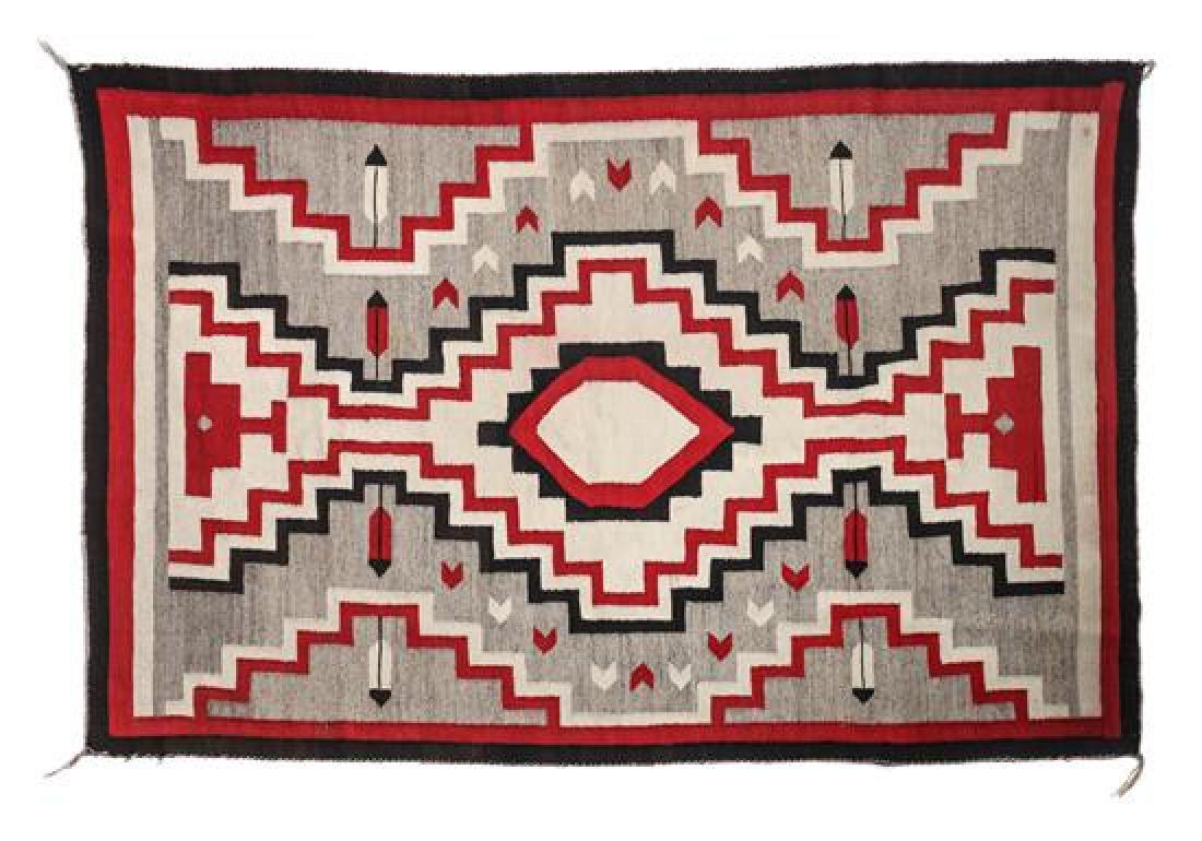 Navajo Ganado Rug 69 x 47 inches