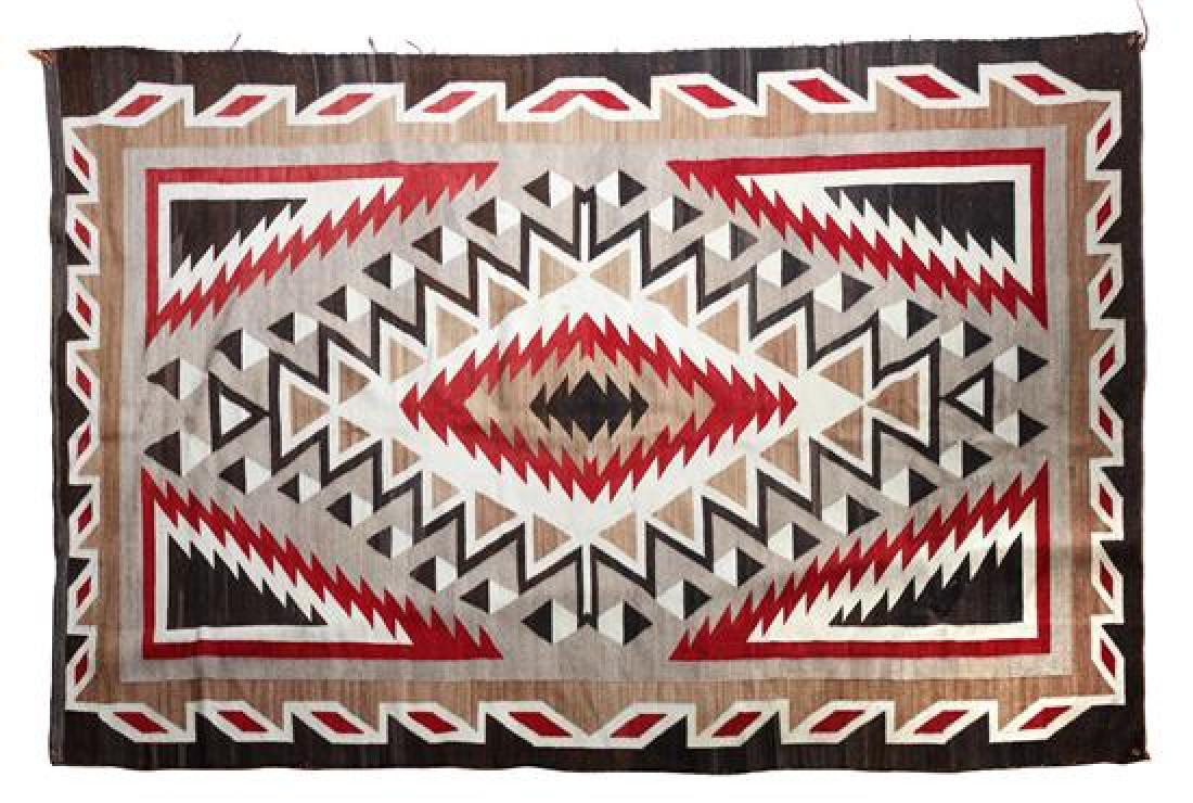 Navajo Ganado Rug 103 x 62 inches