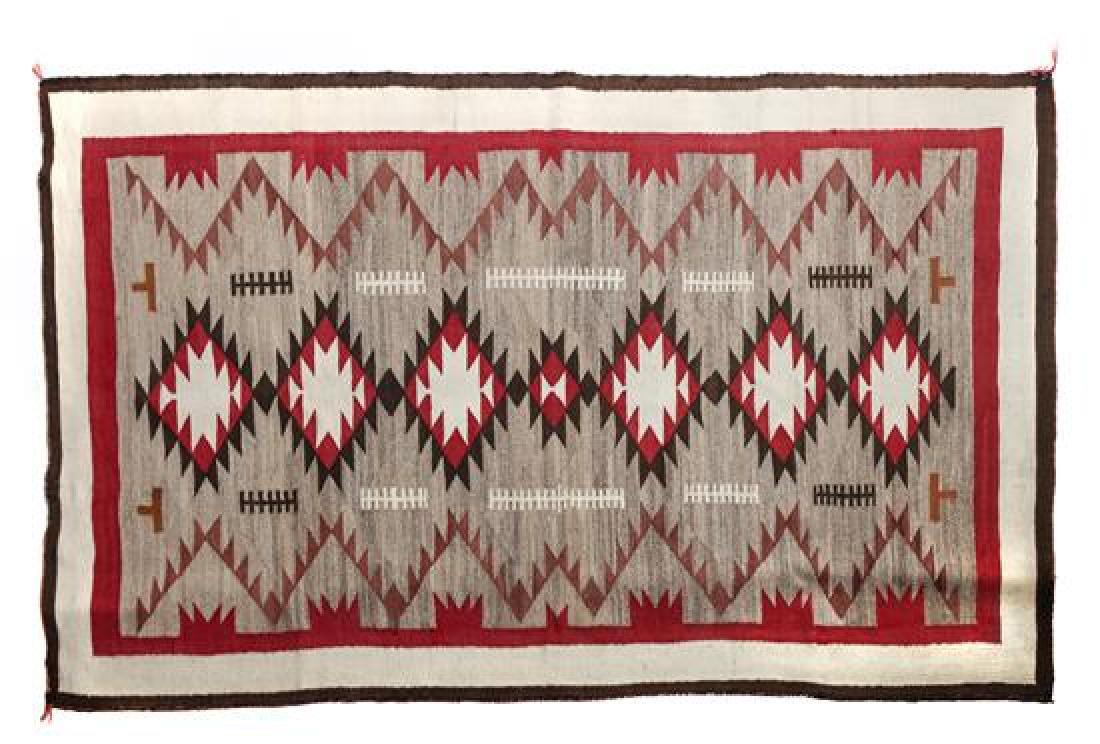 Navajo Klagetoh Rug 80 x 48 inches