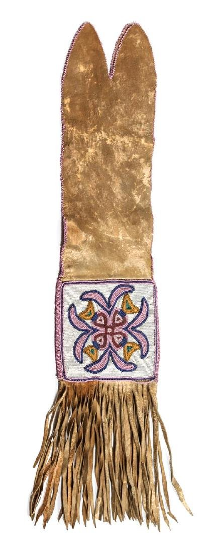 Blackfoot Beaded Pipe Bag Length overall 29 inches