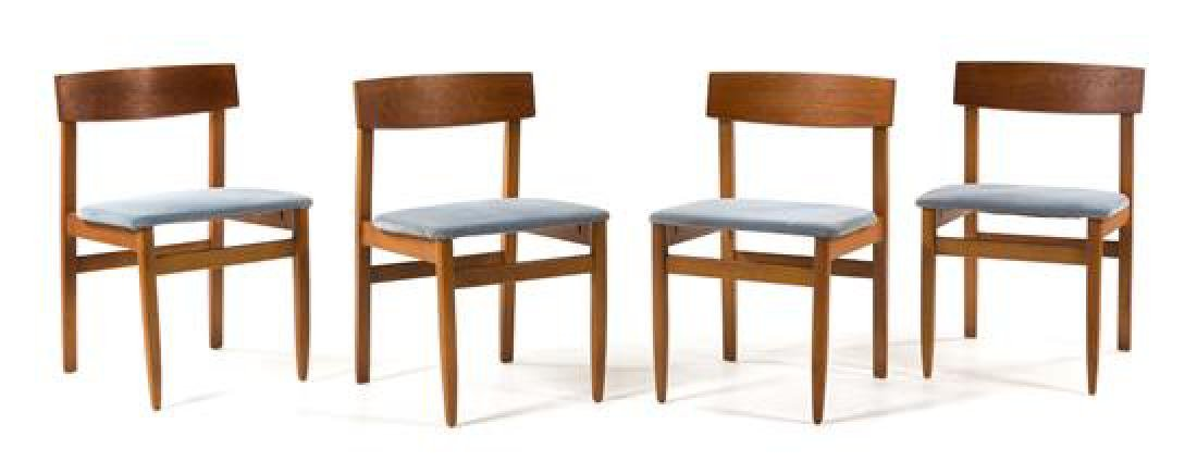 Scandinavian Design, c.1960, an extension dining table