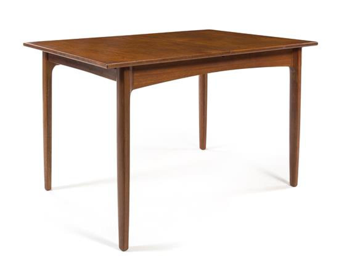 Scandinavian Design, c.1960, an extension dining table - 2