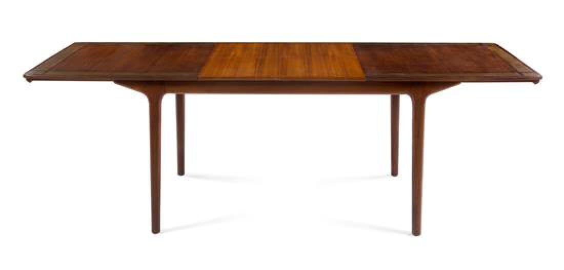 Scandinavian Design, 1960s, extension dining table,