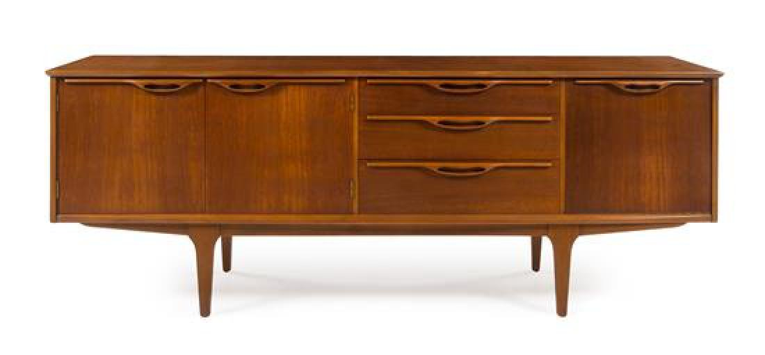 Scandinavian Design, c.1960, sideboard, with 3 drawers