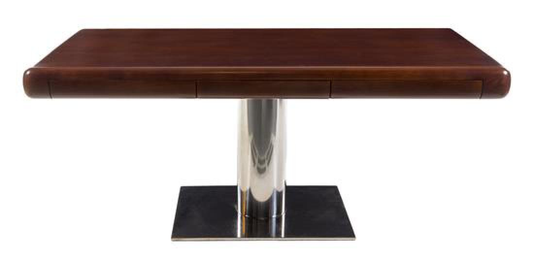 Gianni, USA, 1970s, pedestal desk