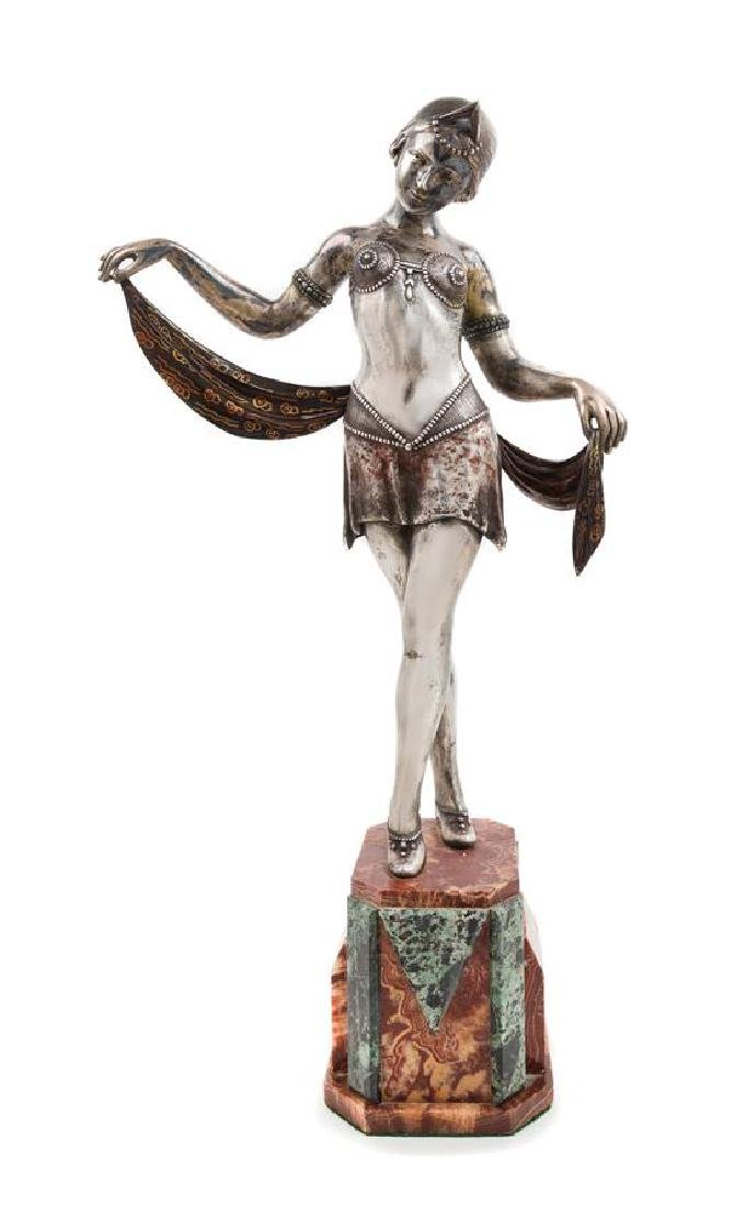 Claude Mirval, (French, Early 20th Century), Danseuse