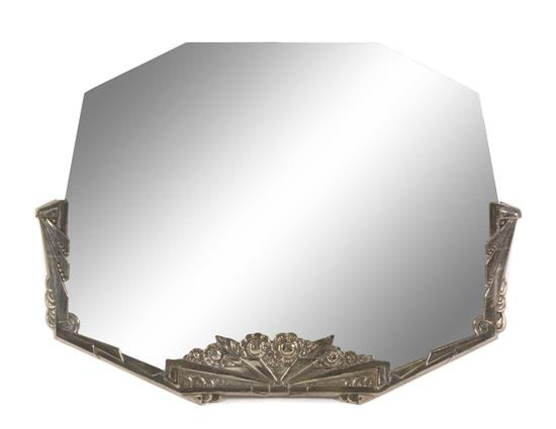 Art Deco, c.1930, wall mirror