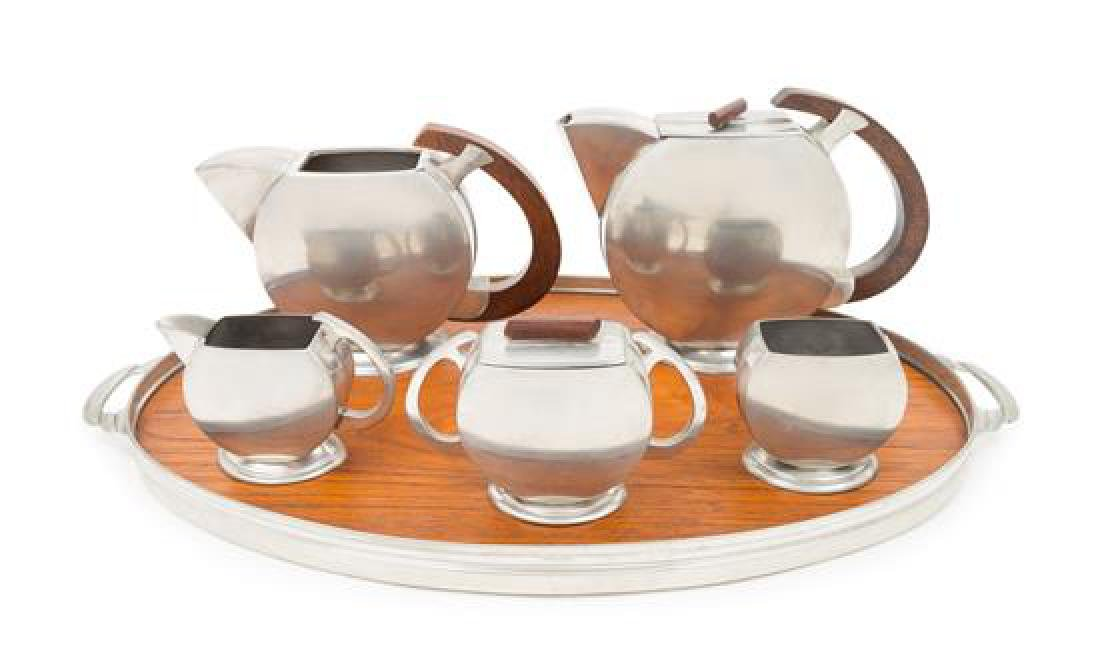 Art Deco, Holland, a tea and coffee service, comprising