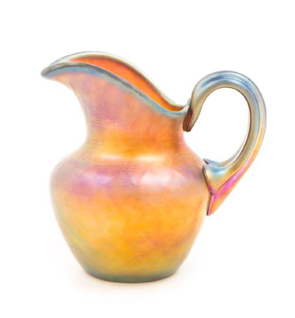 Steuben, FIRST HALF 20TH CENTURY, an iridescent glass