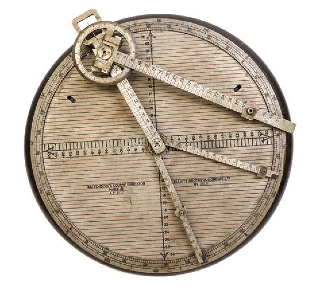 * A Battenberg's Maritime Course Indicator Mark III