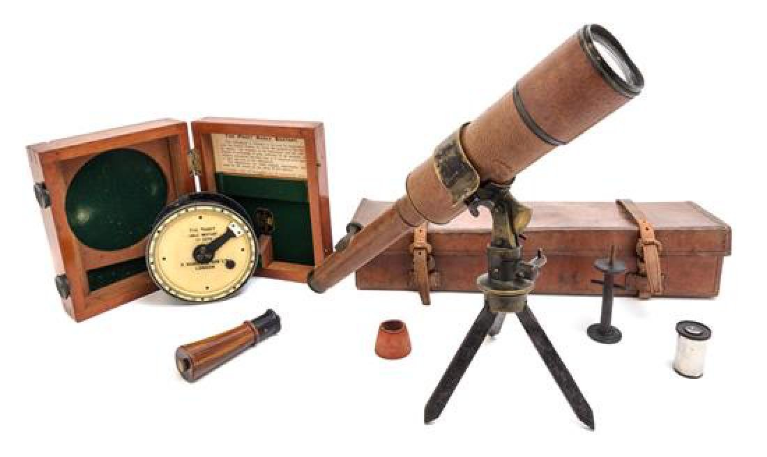 * A Davon Portable Tripod Telescope Length of scope 14