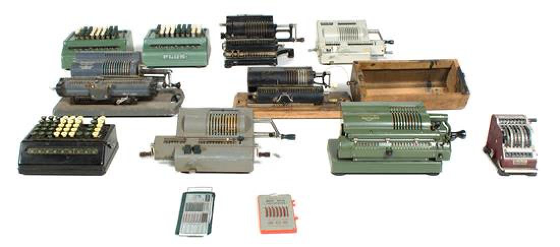 * A Collection of Adding Machines