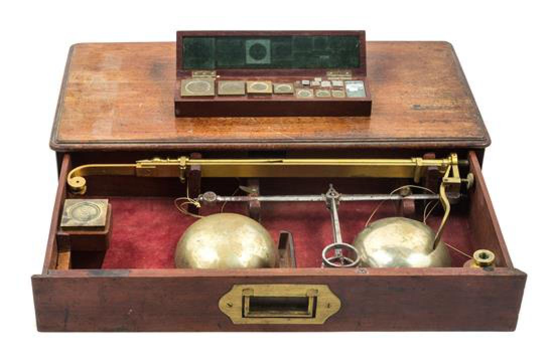 * An English Brass Balance Scale Height of frame 14