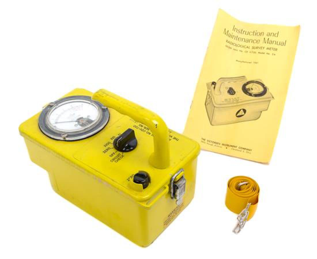 * An American Radiological Survey Meter Geiger Counter