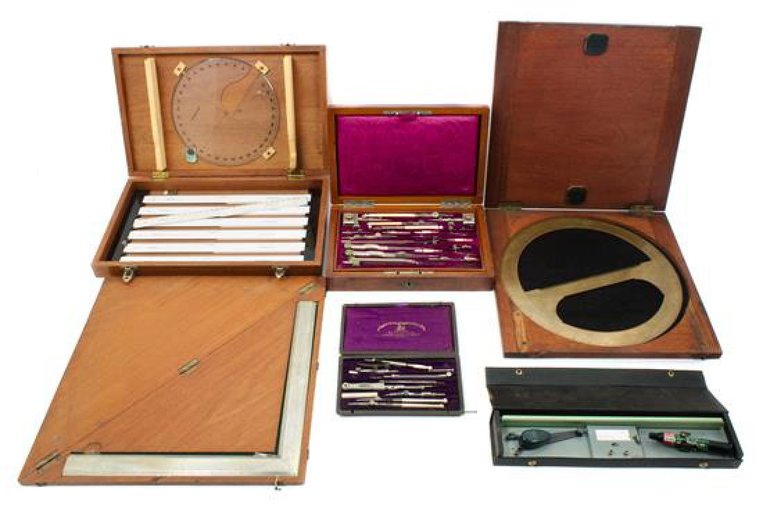 * A Collection of Drawing Instruments Diameter of