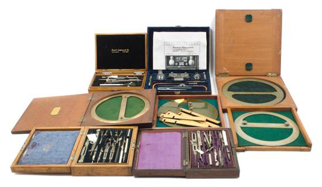 * A Collection of Drawing Instruments Diameter of great