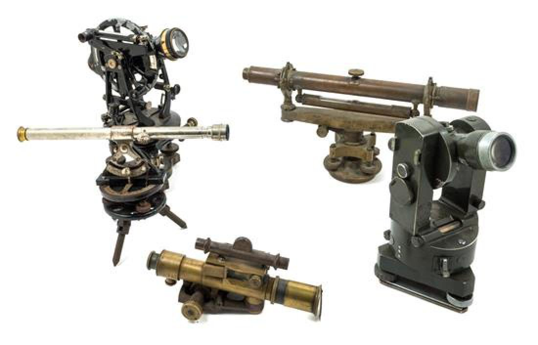 * A Group of Five Theodolites Length of longest scope