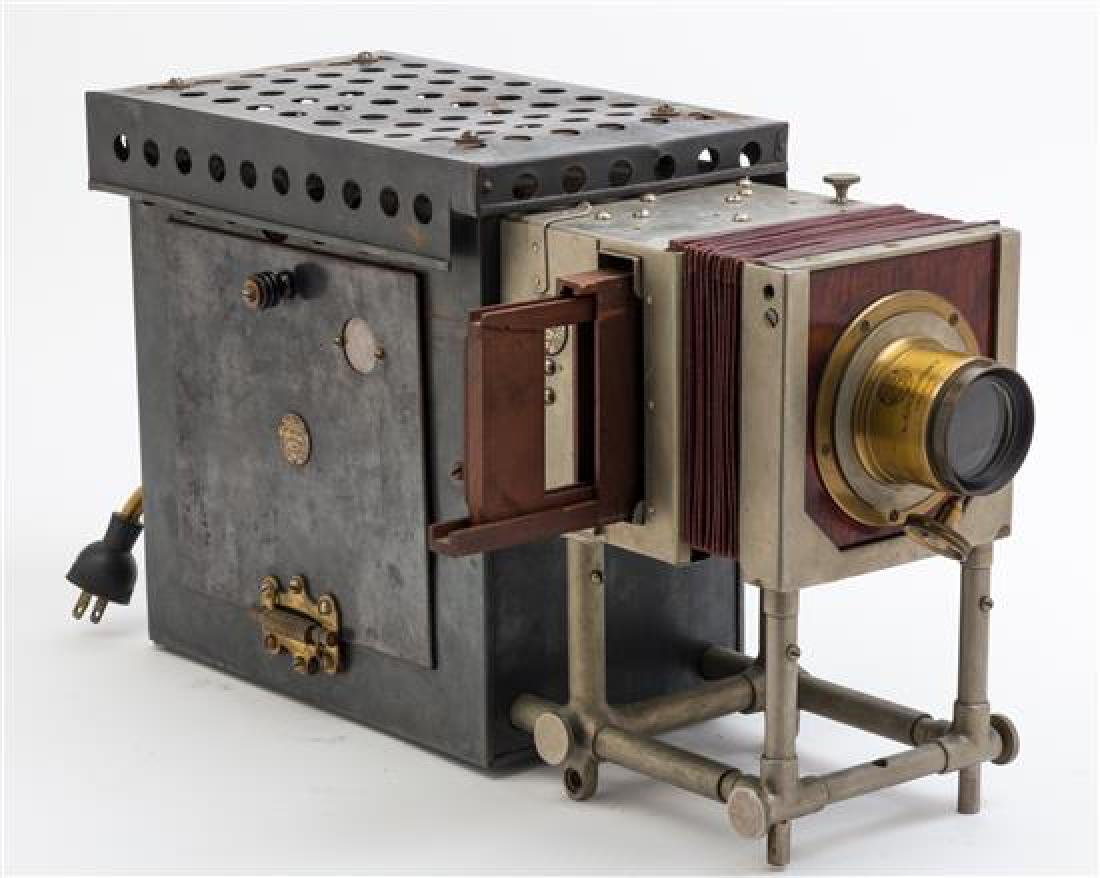 * An American Early Electric-Model Stereopticon