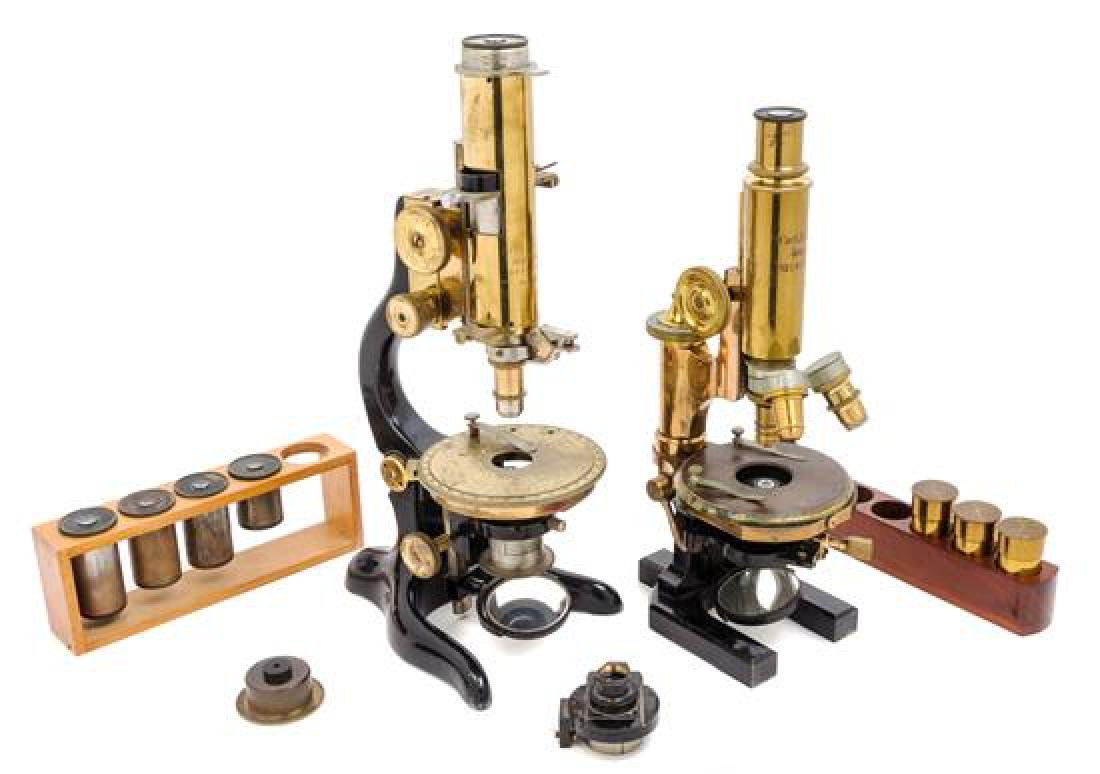 * Two Cased Microscopes
