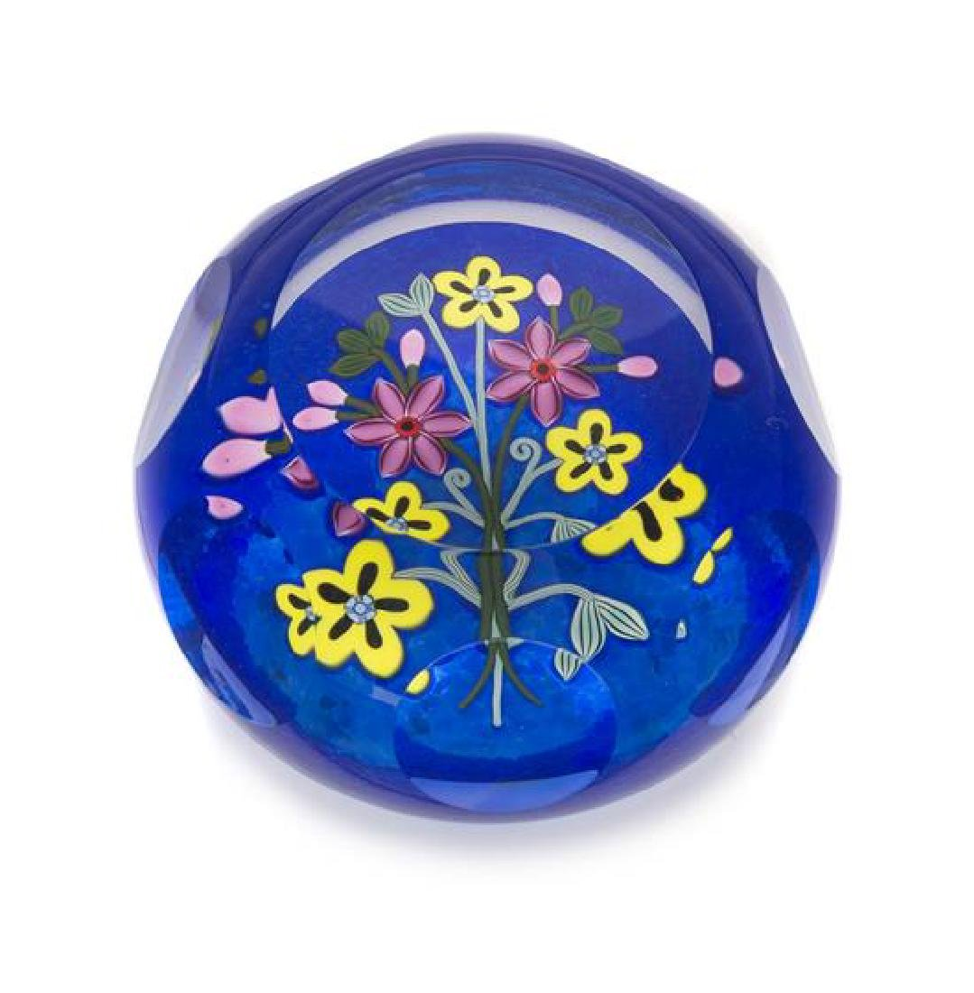 * Perthshire Paperweights, Scotland, a bouquet