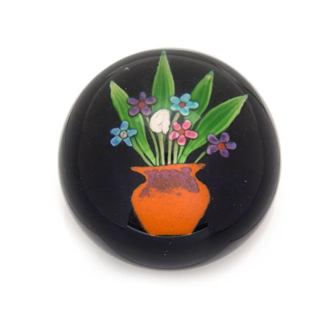 * Paul Ysart, (Spanish, 1904-1991), a vase of flowers
